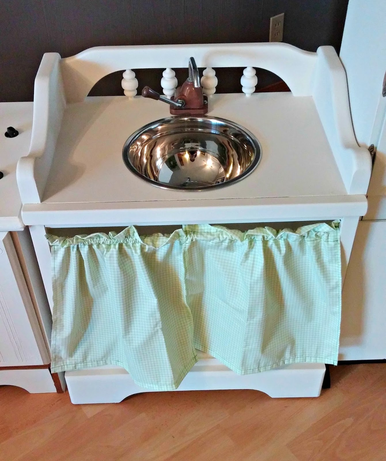 Upcycled Children\'s Play Kitchen - Little Vintage Cottage
