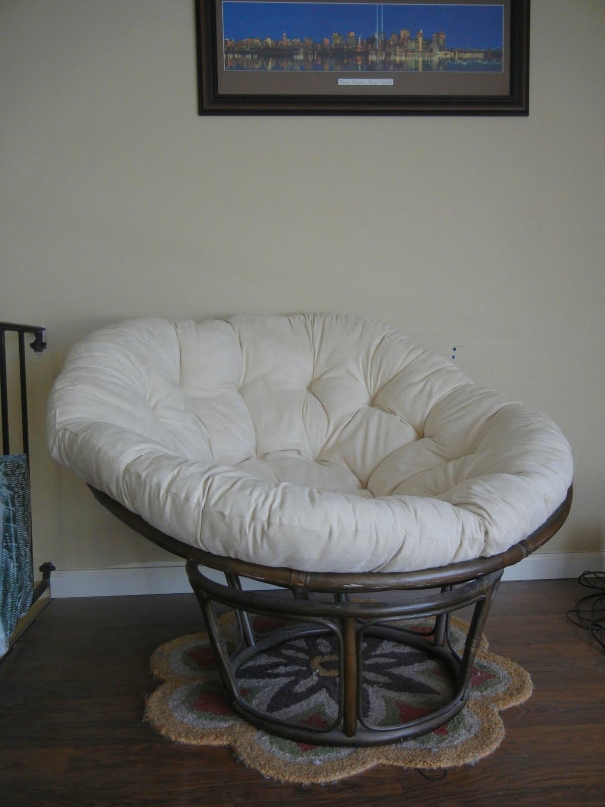 white papasan chair yoga sex