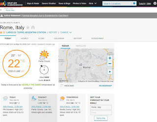 Sito Weather Underground