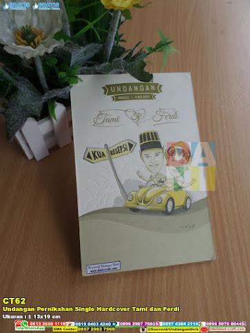 Undangan Pernikahan Single Hardcover Tami Dan Ferdi