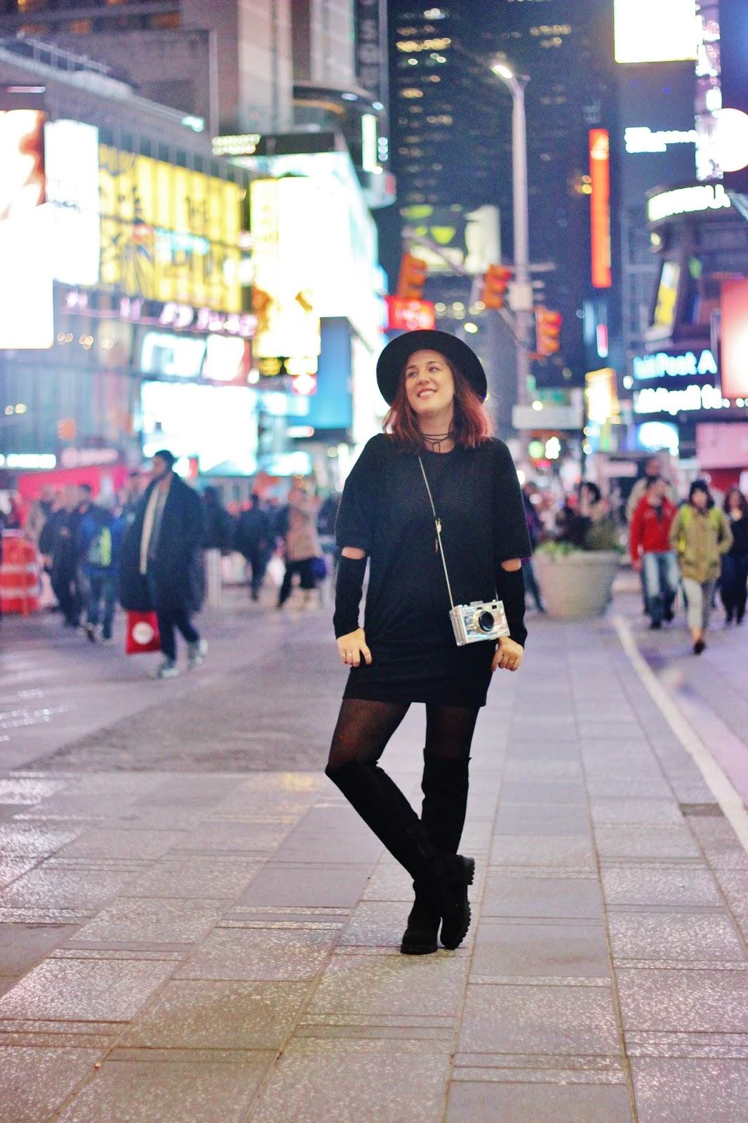 COMO ME VISTO EN NYC