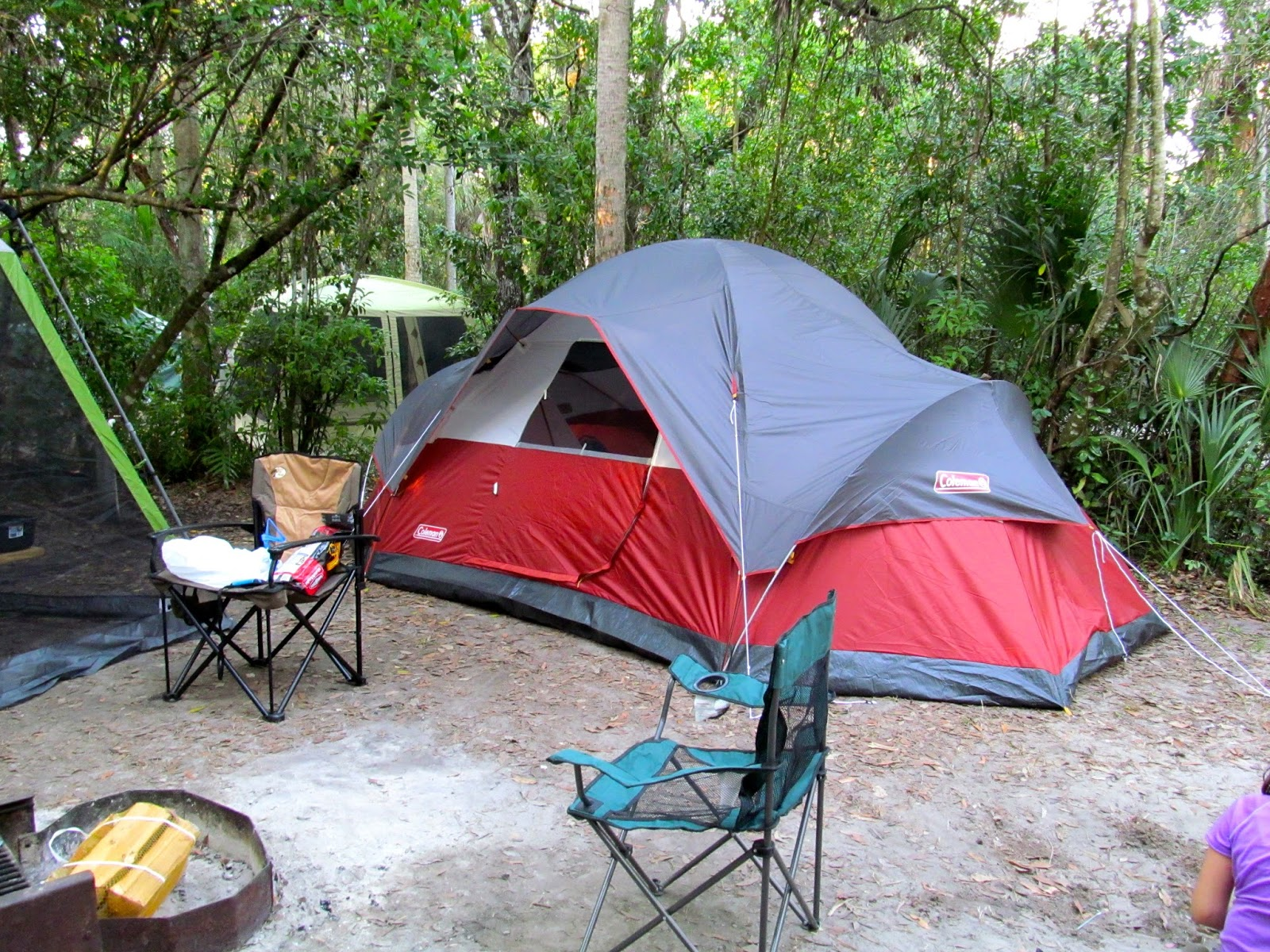 Camping at Collier-Seminole State Park - Naples, FL