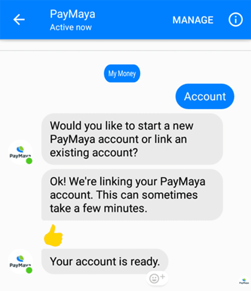paymaya-6 How To Create Or Link A PayMaya Account From Messenger Technology