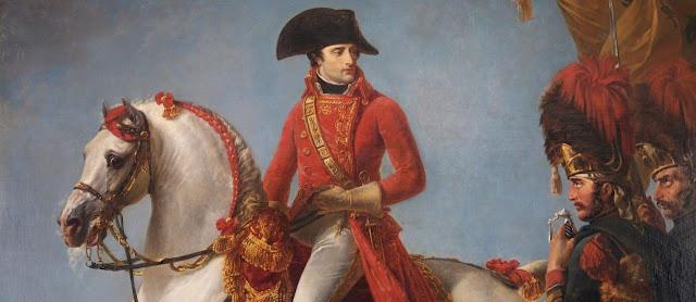 Napoleon Bonaparte a caballo