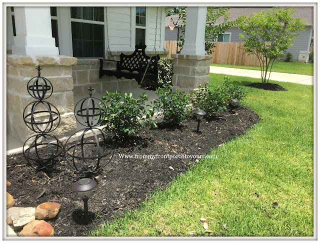 Landscape-Iron Accents-Curb Appeal-Gardenias-From My Front Porch To Yours