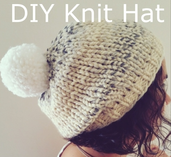 HipCreative  Super Bulky Hat (Marshmallow Fluff Chunky Hat ) 8dae4119376