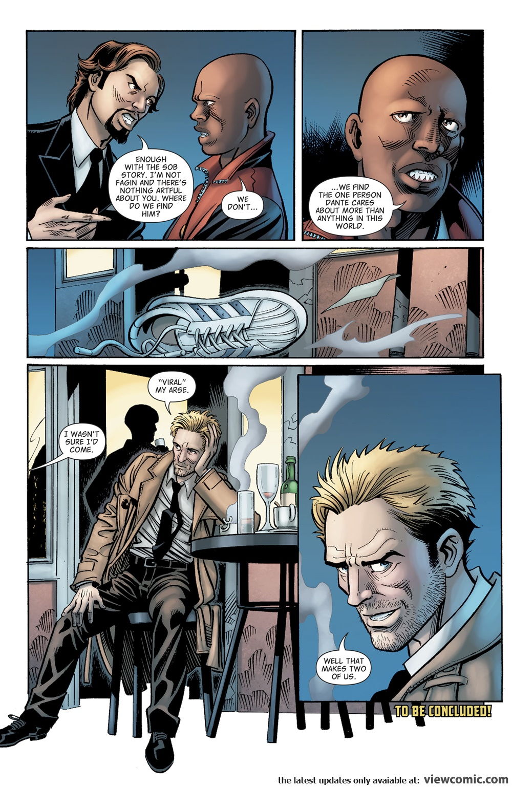 The Hellblazer 011 (2017)  | Vietcomic.net reading comics online for free