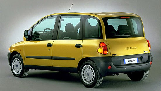 Fiat Multipla traseira
