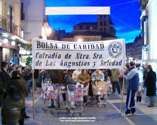 pasacalles solidario Agrupacion Musical Angustias y Soledad Leon