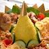 Cara Membuat Nasi Kuning Tumpeng Spesial Nikmat