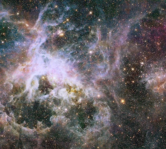 Tarantula Nebula in the Infrared