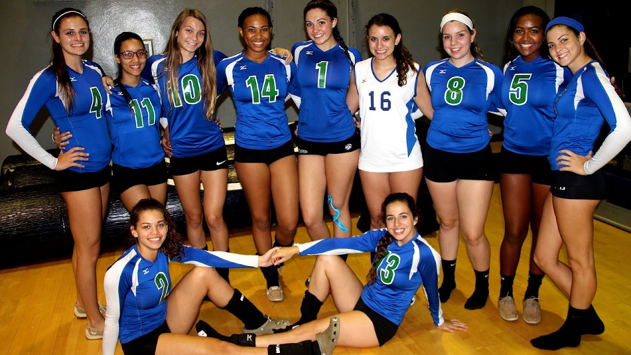 Pics of girls volleyball team thru