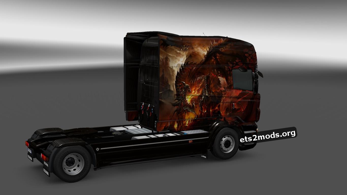 Scania RJL Dracon Skin V 4