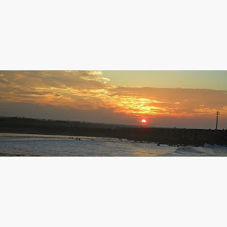 Menikmati Kesegaran Udara Pagi di Pantai Glagah Indah Kulon Progo