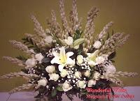 Bunga Sedap Malam dan Mawar