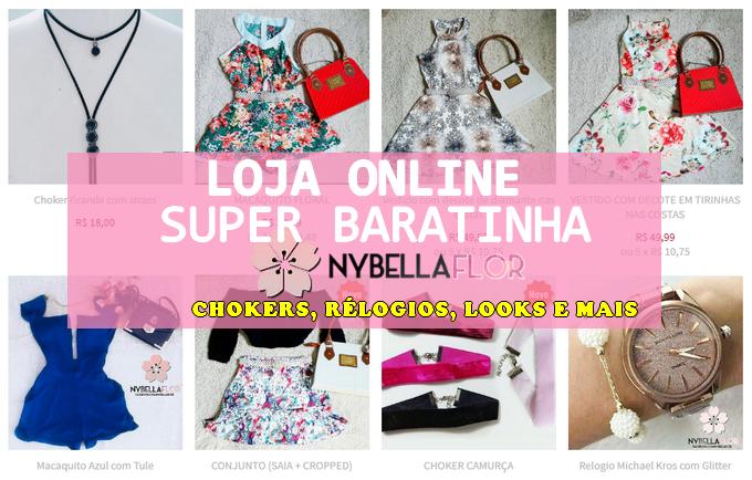 998771c3fcc0 Vocês conhecem a loja? Nela vocês podem encontrar vários modelos de choker, roupas  femininas ...