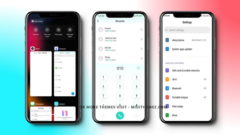 Miui iOS v11 MIUI Theme