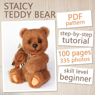 PDF Pattern & Tutorial - Teddy Bear