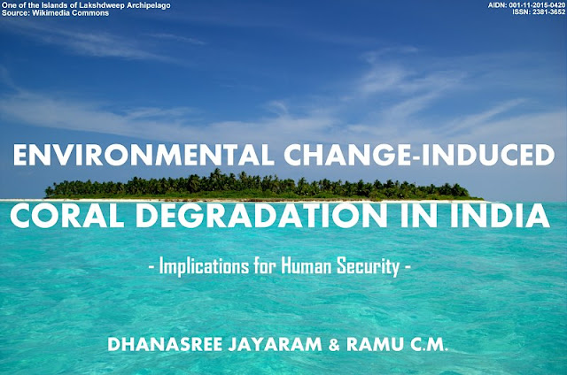 CLIMATE | Environmental Change-induced Coral Degradation in India: Implications for Human Security