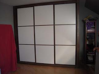 Distintos tipos de puertas para armarios empotrados