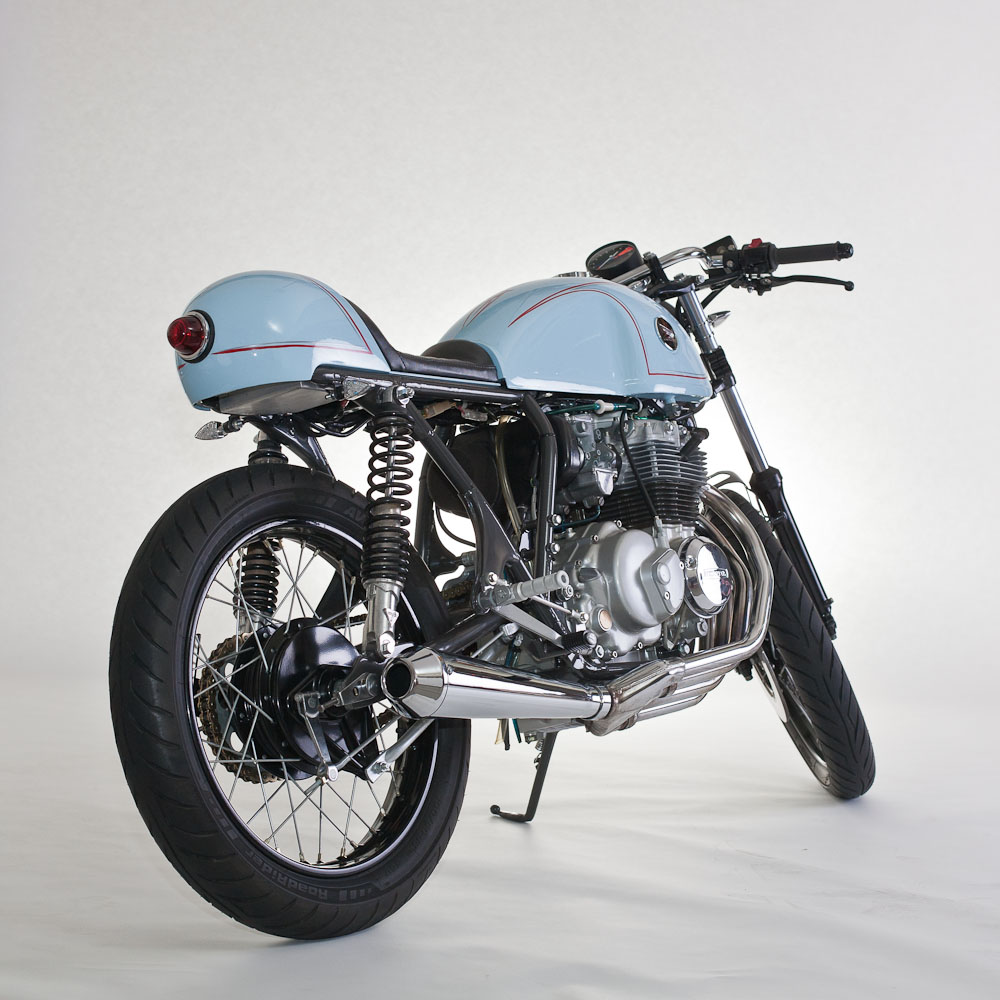 Honda CB400 Cafe Racer | Return of the Cafe Racers