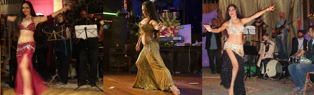 Paula Bellydance in Los Angeles and Live Music Dominicana