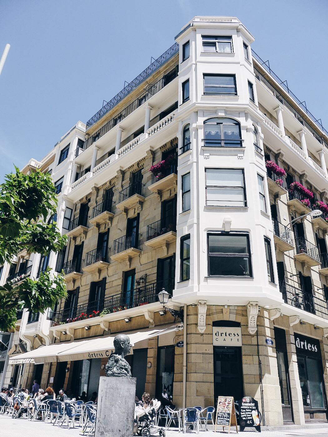 Café in San Sebastián