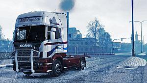 Banter Logistik Fresh skins for Scania R & Streamline
