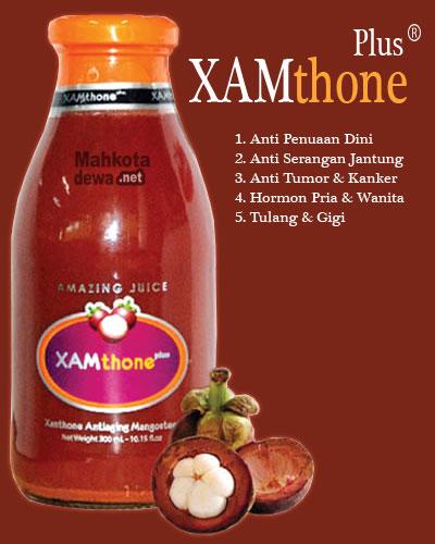 XAMthone Plus - Jus Ekstrak Kulit Manggis