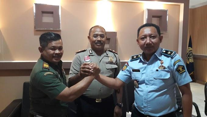Tugas Perdana, Danramil 03/Sukmajaya Anjangsana Ke Rutan Cilodong