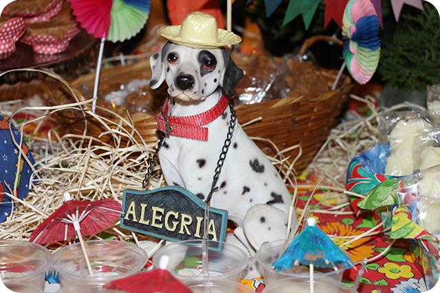 Decoração de Festa Caipira - Junina : Cachorro