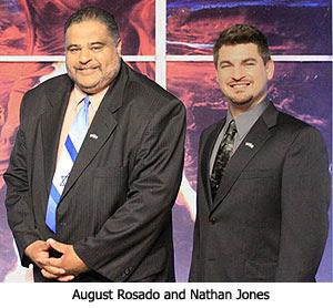 August Rosado and Nathan Jones