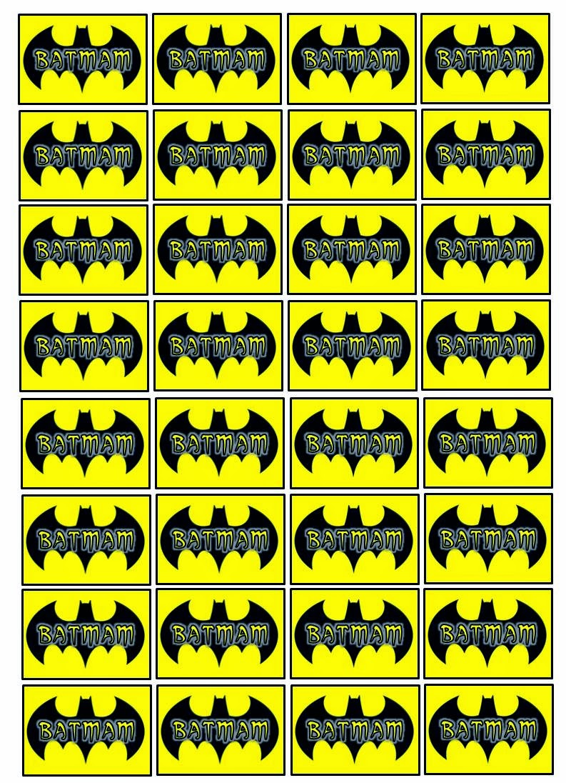 Kit De Batman Para Imprimir Gratis Ideas Y Material Gratis Para