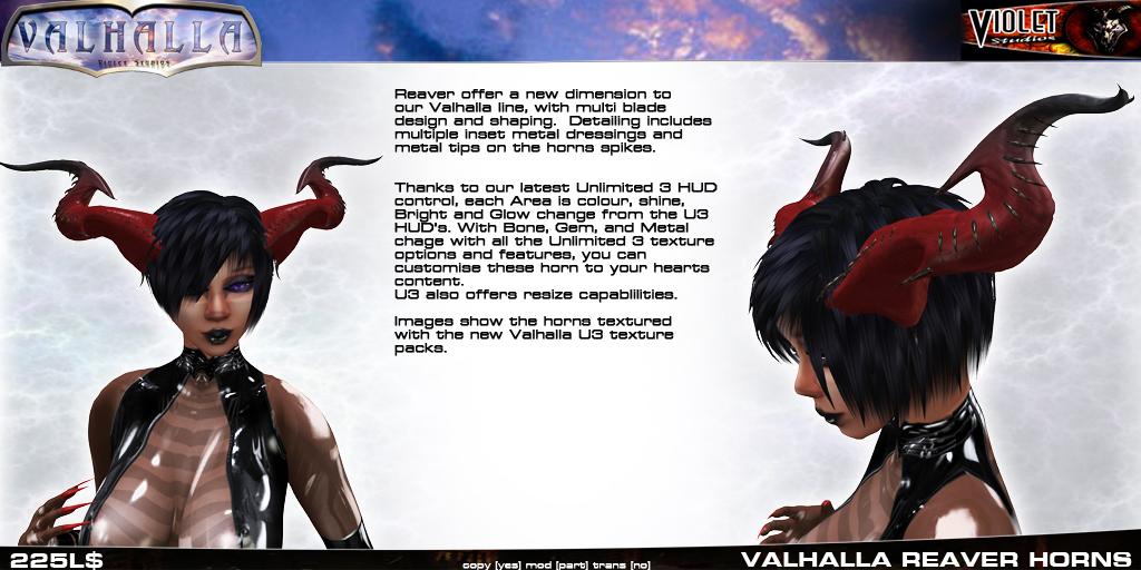 Demon Studio Reaver Horns Released