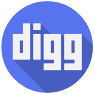 digg colorful icon