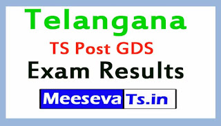 TS Post GDS Exam Results 2017