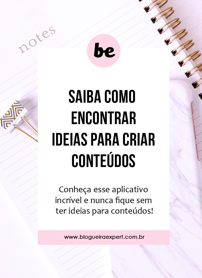 Saiba como encontrar ideias para criar conteúdo!