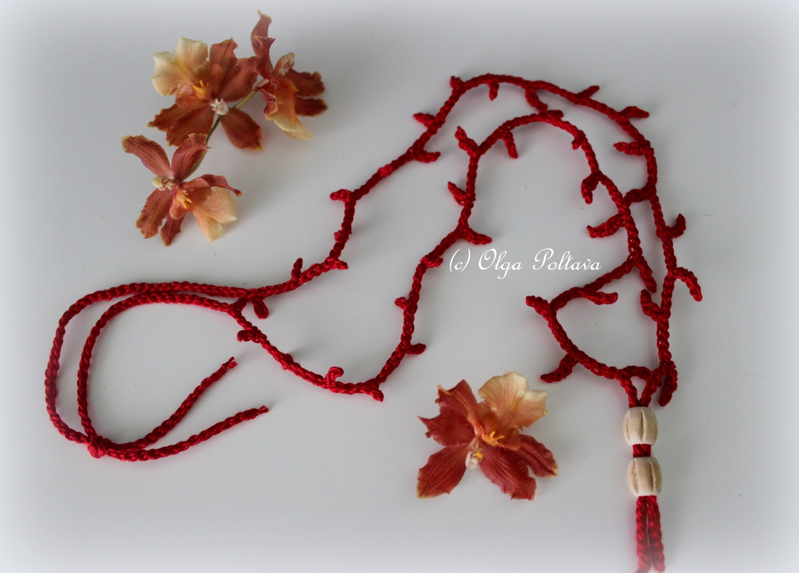 Lacy Crochet Crochet Necklace Tutorial