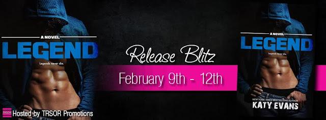 Release Blitz: Legend by Katy Evans