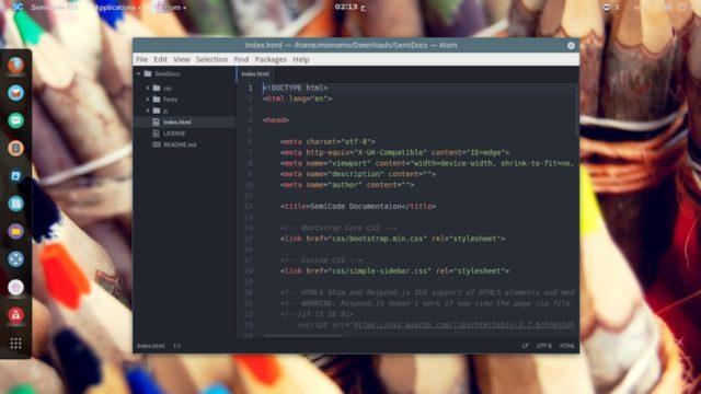 SemiCode OS – la nueva distribución GNU/Linux para programadores y desarrolladores web