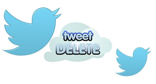 Twitter da Tüm Tweetler Nasıl Silinir
