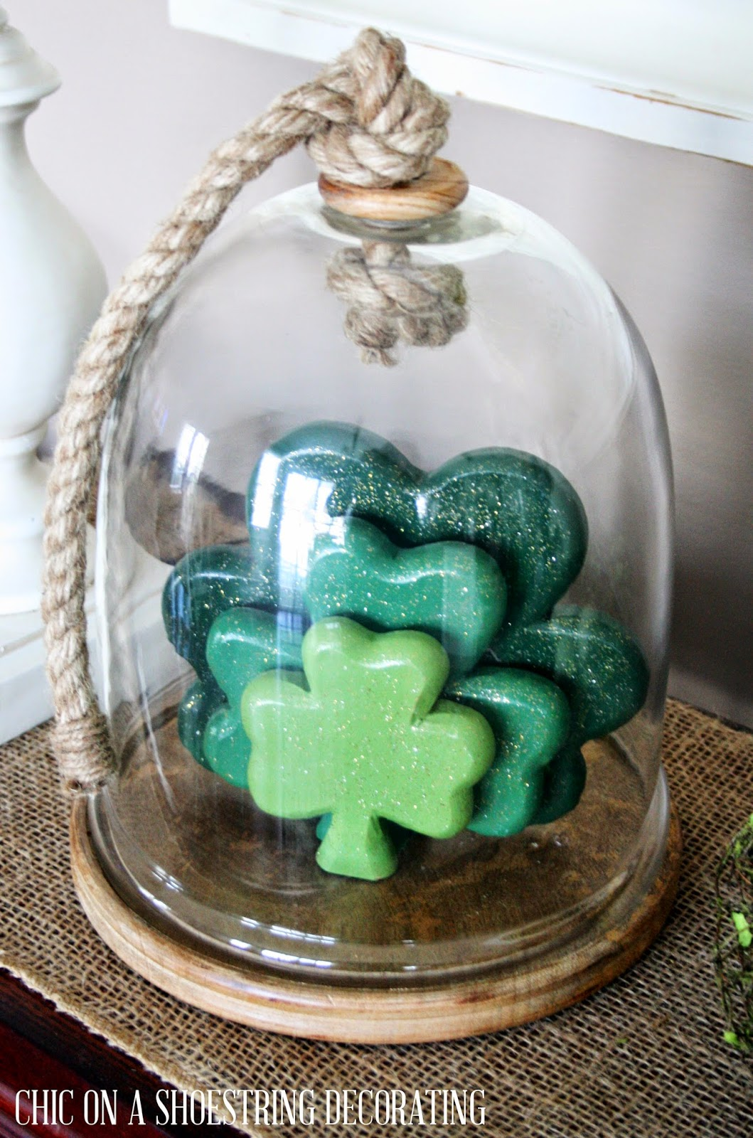 Easy St. Patrick's Day Decor by Chic on a Shoestring Decorating