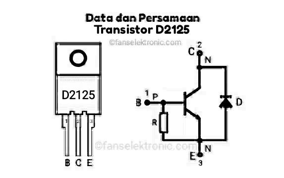 Persamaan Transistor D2125