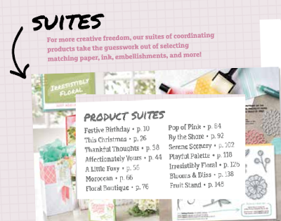 Stampin' Up!®  Product Suites