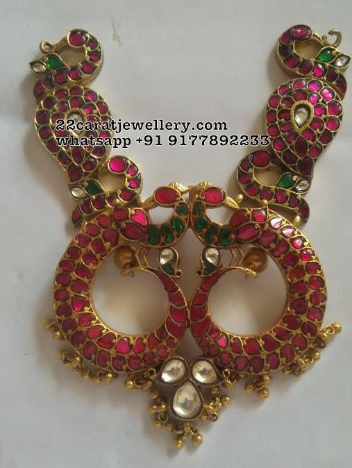 Latest Kundan Pendants and Mango Necklace