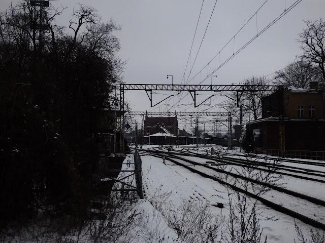 Dworzec spod siedziby opolskiego PKP