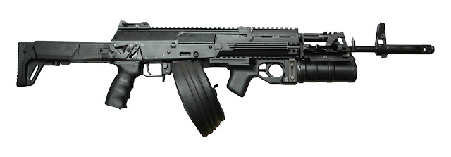 Image Attribute: AK-12 with a Drum & GP-30 Grenade Launcher