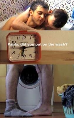 Pablo y lavadora, film