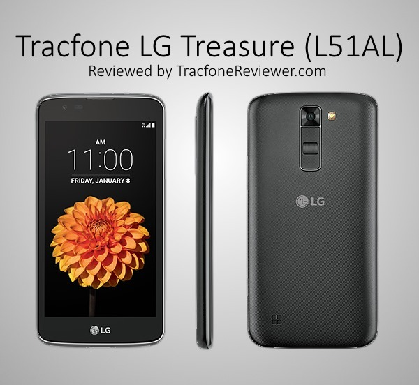 lg treasure l51al review