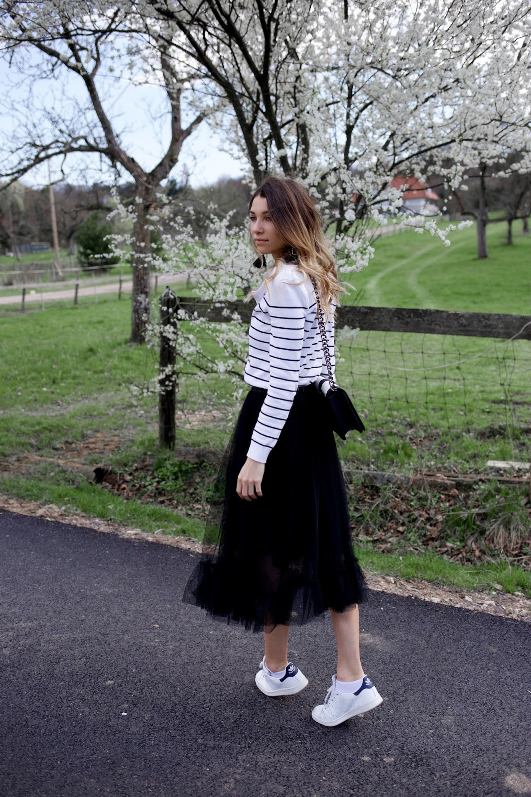 Maeva Dck, Jupe Tulle, Forever21, look printemps, blogueuse mode
